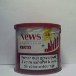 NEWS à tuber 30g Additifs 3,5%