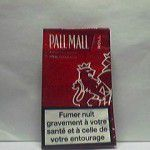 PALL MALL New Orleans 30 g (rouge) Additifs 10 %