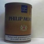 PHILIP MORRIS (marron) à tuber & à rouler 60g Additifs 10,5%