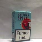 American Spirit Natural bleu Additifs 0%