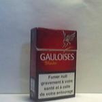 GAULOISES Blondes Rouges Additifs 6,5%