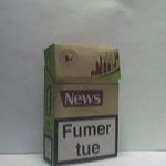 NEWS 100% tabac Additifs 0%