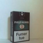 PHILIP MORRIS Capsule mentholée Additifs 8%