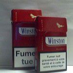 Winston Classic Rouge Additifs 7%