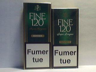 Ancien et nouveau format des FINE 120