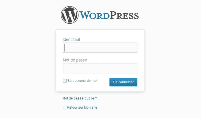 connexion_wordpress